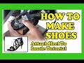 How To Make Shoes - Attach Heel to Insole Tutorial