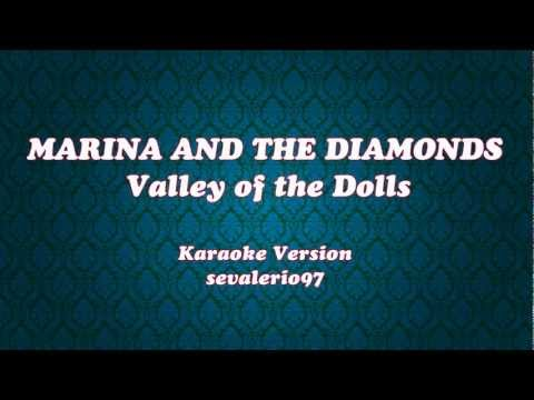 Marina and the Diamonds - Valley of the Dolls (Karaoke Version) [Instrumental]