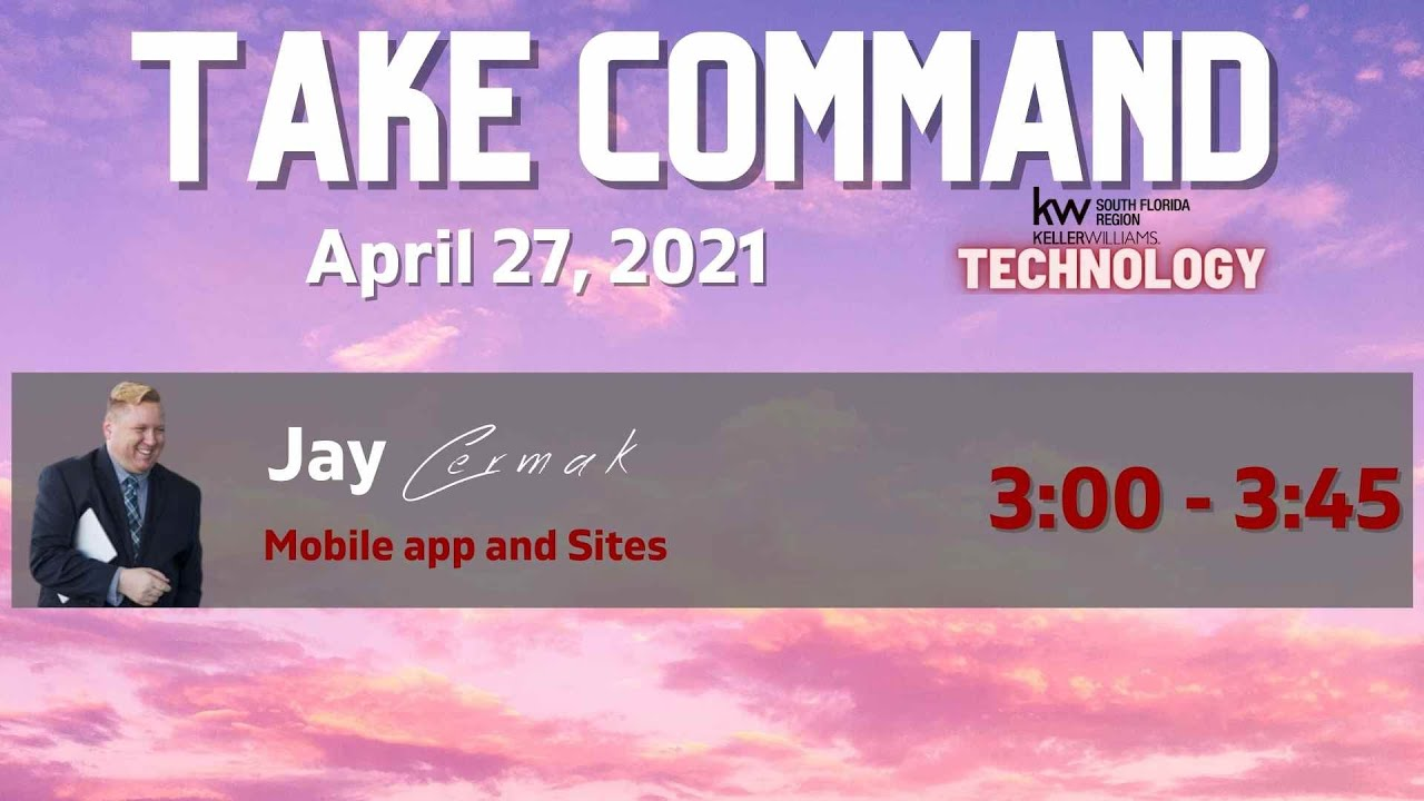 April 2021- Session 6: Apps and Sites