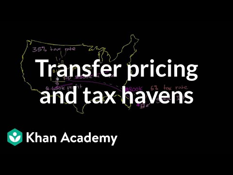 Transfer pricing and tax havens - Taxes - Finance & Capital Markets - Khan Academy
