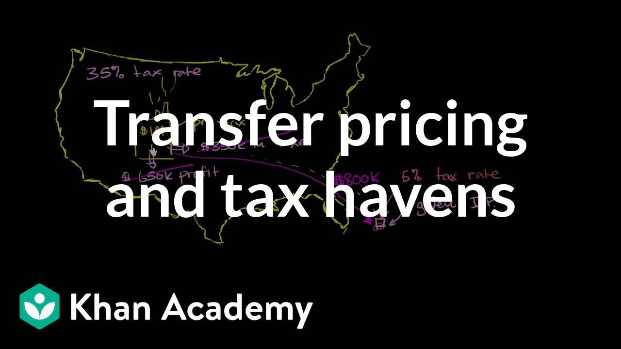transfer pricing tutorial