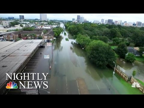 A Look At Why Houston Floods   NBC Nightly News
