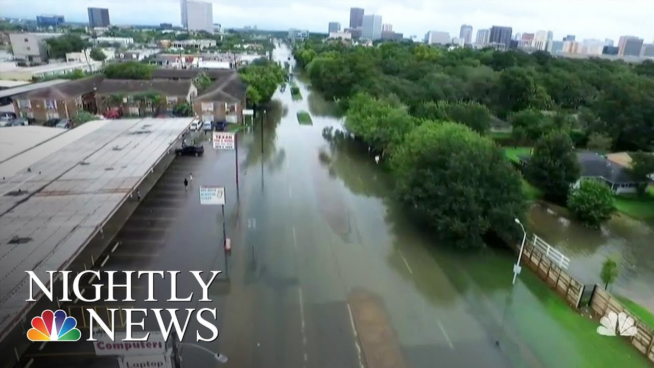 A Look At Why Houston Floods | NBC Nightly News