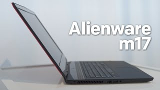 Alienware m17 Hands-on: Thinnest & Lightest 17-inch Gaming Laptop