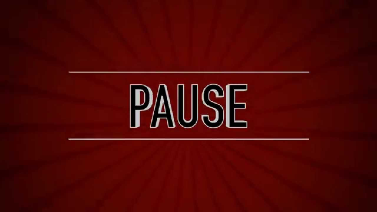 Free Quot Pause Quot Screen For Obs Or Yt Kostenloser Screen F 252 R