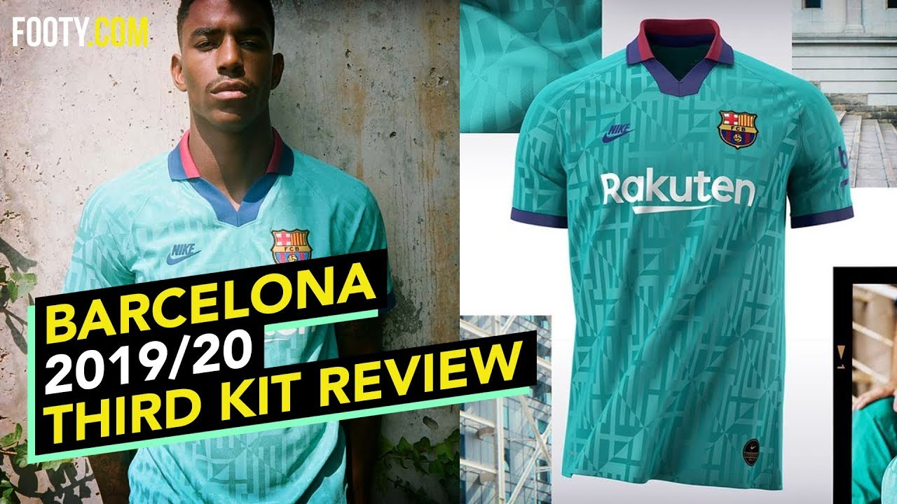 barcelona 2019 20 nike third shirt kit review youtube barcelona 2019 20 nike third shirt kit review