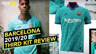 Barcelona and nike release their third jersey for the 2019/20 season its a brilliant retro throwback to 90s. taking inspiration from 1996/97 seas...