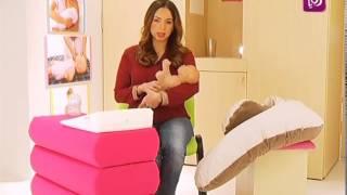 الترجيع اوالارتداد المريئي عند الأطفال الرضع مع رولا القطامي