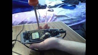 فتح و صيانة آلة الحلاقة الكهربائية