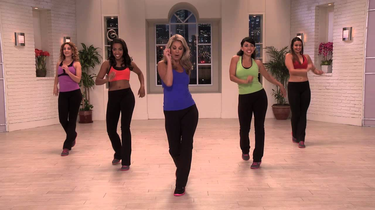 Cha-Cha With Denise Austin From Her Burn Fat Fast Latin ...