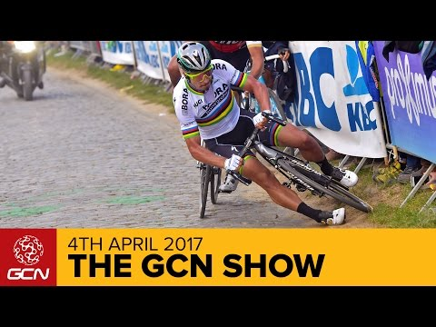 How Did Peter Sagan Crash At The Tour Of Flanders? | The GCN
