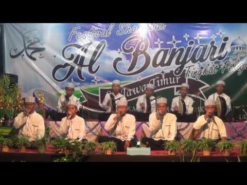 Festival Al Banjari Terbaru 2017 Ponpes Roudlotud Darojat kuwati Paciran Lamongan (GSE-Part1)
