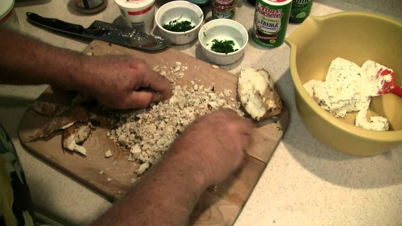How to make smoked fish spread youtube for Smoked fish spread