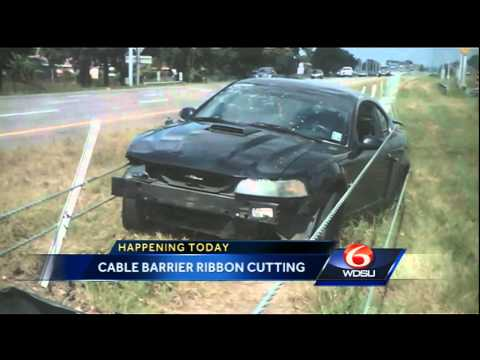 Officials to unveil latest cable barrier installation on I-10 in Orleans Parish