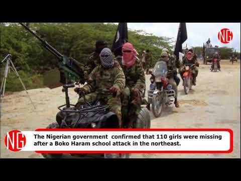 Boko Haram Has Kidnapped 110 School Girls In Nigeria