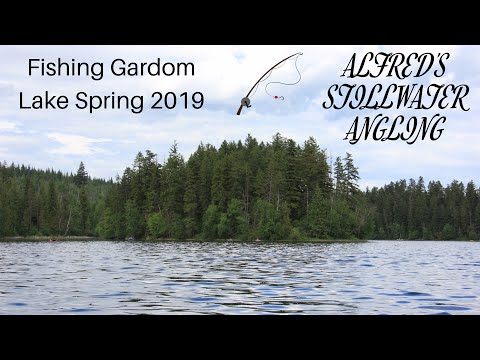 Fishing Gardom Lake Spring 2019