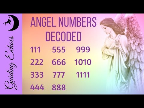 Angel Numbers 1111, 777, 444 and more DECODED!