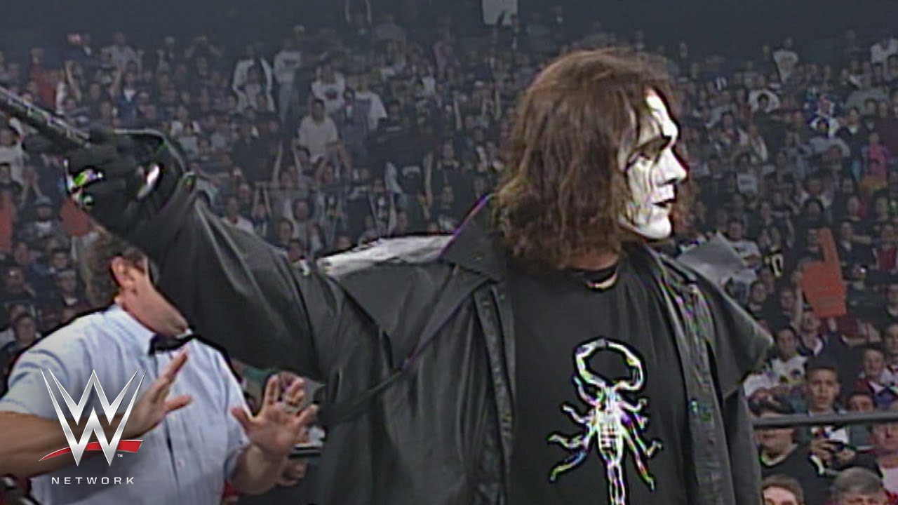 wwe network sting takes out the nwo wcw monday nitro sept 29
