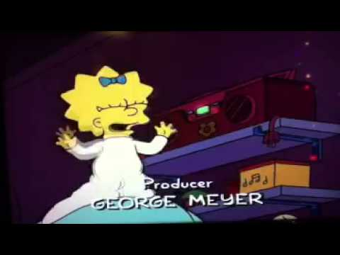 The Simpsons - Maggie and Roofi Singing Scene