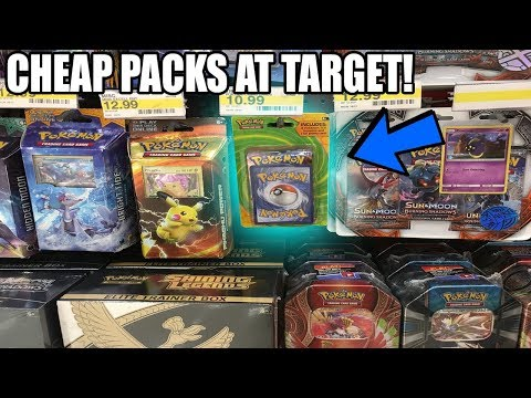 BUYING And OPENING CHEAP POKEMON CARDS FROM TARGET - Value Packs