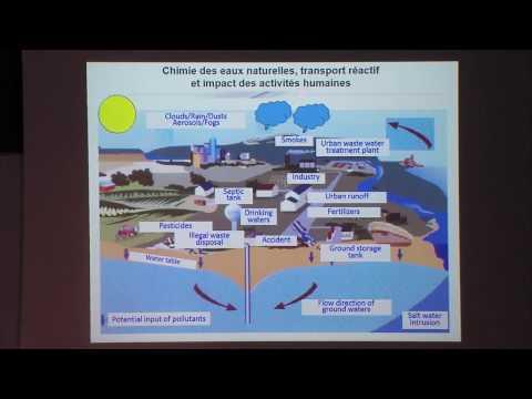 Chimie des eaux naturelles et impact des activités humaines - Philippe Behra (29/11/2016)