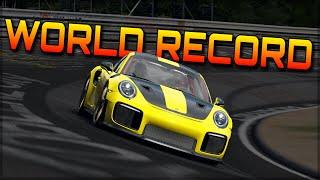 NURBURGRING WORLD RECORD ATTEMPT 🏆 | Forza Motorsport 7 | Porsche GT2 RS