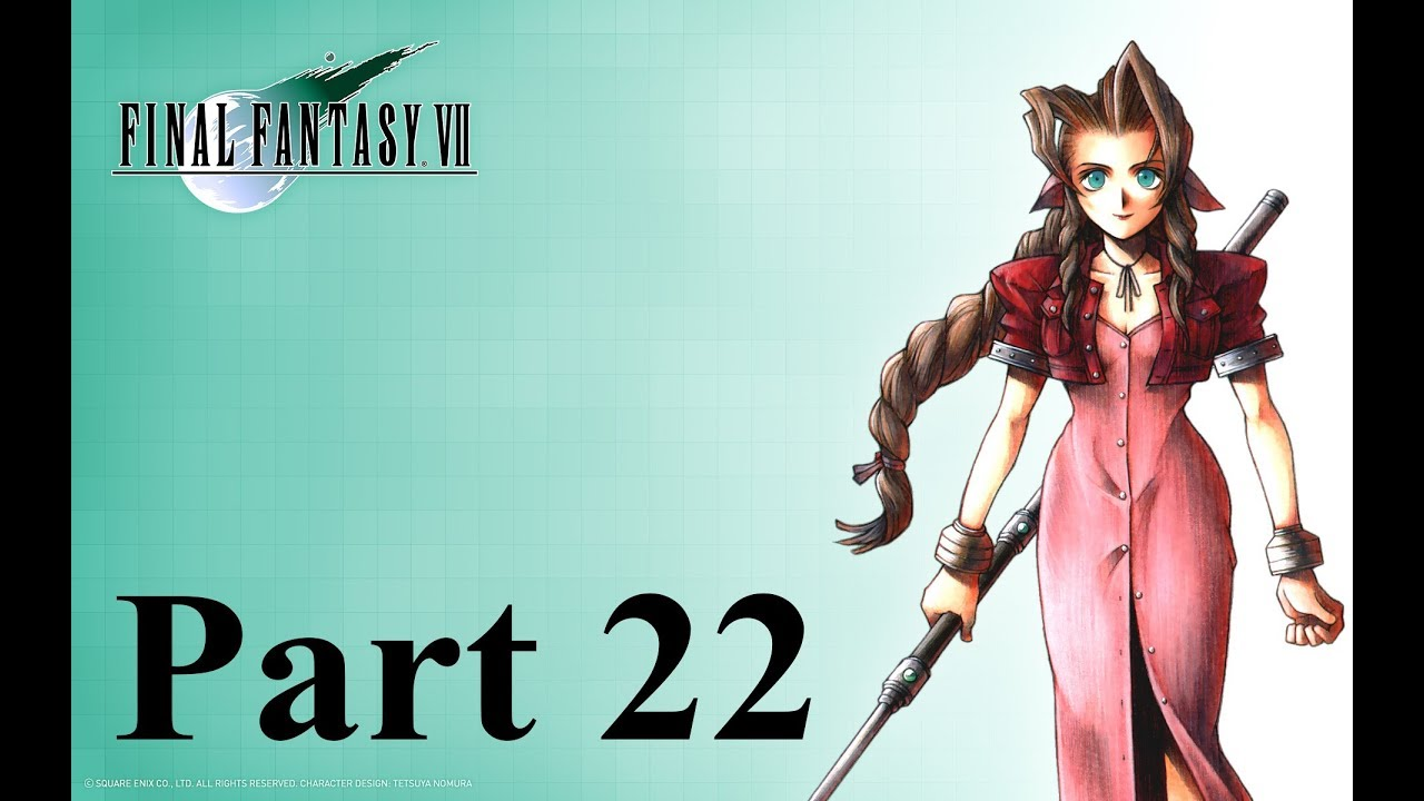 Pc Final Fantasy Viifinal Fantasy 7 22 At 4k Resolution Youtube