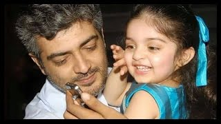 Actor Ajith with his Daughter Anoushka Lovely Cute Video - Happy birthday to Anoushka