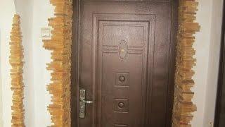 Просте рішення приховати нерівні кути в передпокої дверних укосів