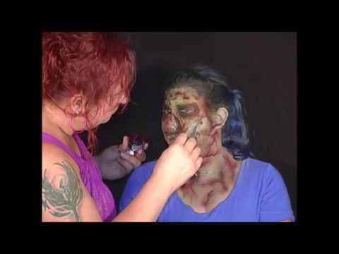 Zombie Makeup, by Nikki Page of Pretty Wild Body Art