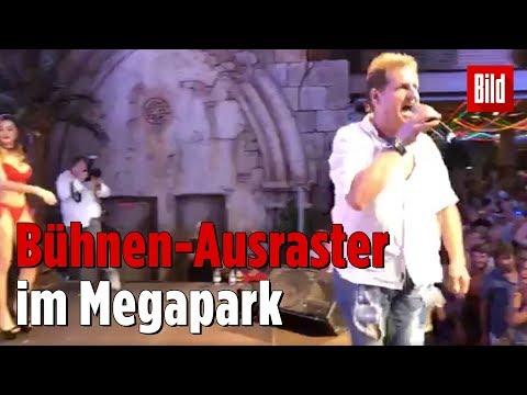 Jens Büchners erster Auftritt im Megapark nach Krankheit