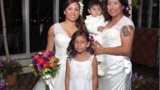 Jenna & Leslie's wedding day