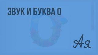 Звук и буква О, о. Видеоурок  по русскому языку 1  класс