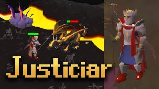 Full Justiciar Armour vs Wilderness Bosses