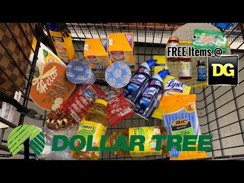Dollar Tree | Shop With Me & Couponing | + Free Vitamins With Digitals At Dollar General