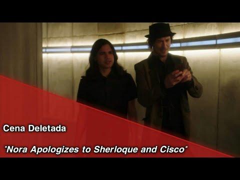 "The Flash • Cena Deletada ""Nora Apologizes To Sherloque And Cisco"". (Legendado)"