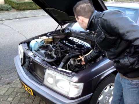Mercedes Benz 190e 1 8 1992 Engine Start Youtube