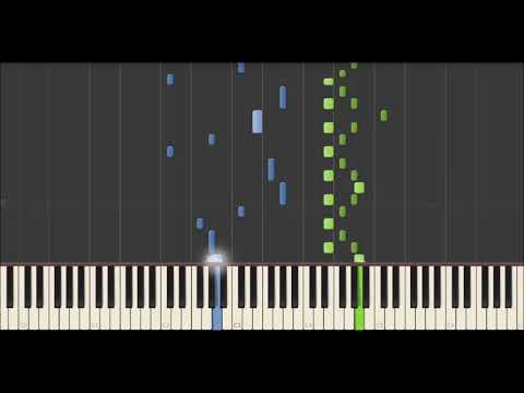 Jean Michel Blais - Il (Synthesia Tutorial)
