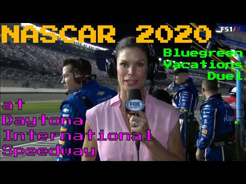 NASCAR 2020 Cup Series Bluegreen Vacations Duel At Daytona International Speedway HD Quality Full