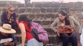 Teotihuacán de paseo con los juliones artesanías