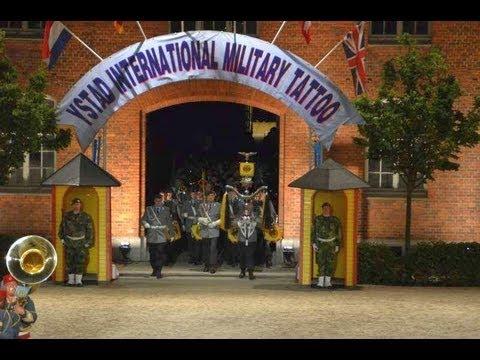 Ystad International Military Tattoo 2013 Stabsmusikkorps der Bundeswehr