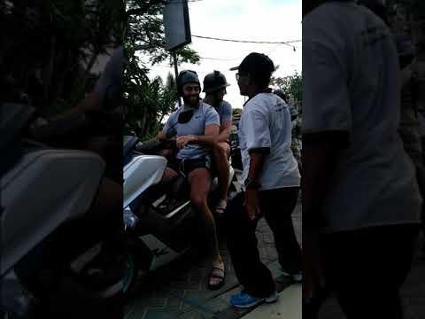 Funny Parking Officer Bali