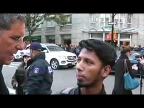 Witness describes incident in Lower Manhattan