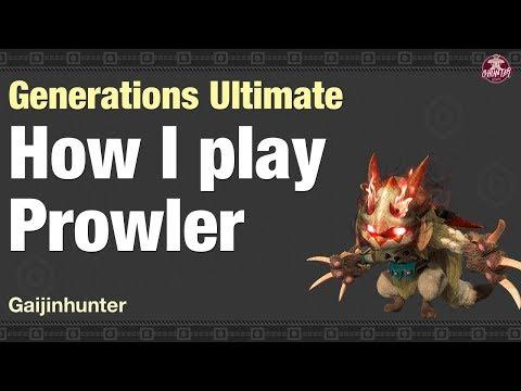 MHGU: How I Play Prowler