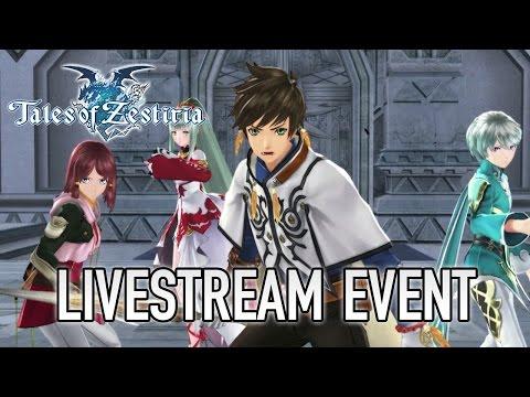 Tales of Zestiria - PC/PS4/PS3 - Livestream premiere & Symphonia HD sneak peek