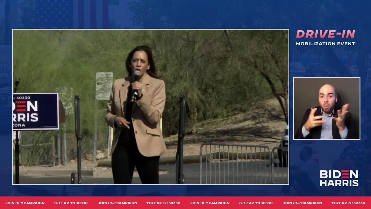 Kamala Harris In Arizona Vp Candidate Campaigns In Phoenix Tucson