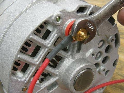 Wiring Diagram For Alternator On Tractor Directv Hd Dvr Easy Installing Of A Car Volt Amp Gauge - Youtube