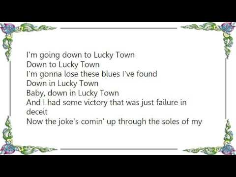 Bruce Springsteen - Lucky Town Lyrics
