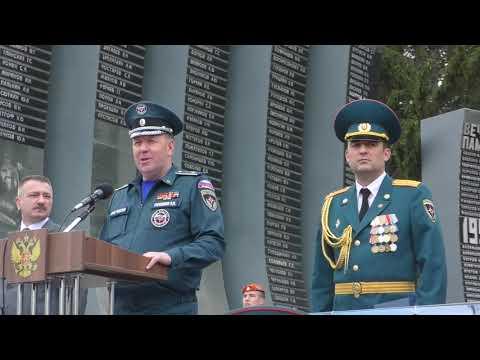 83-й выпуск из Уральского института ГПС МЧС России молодых специалистов