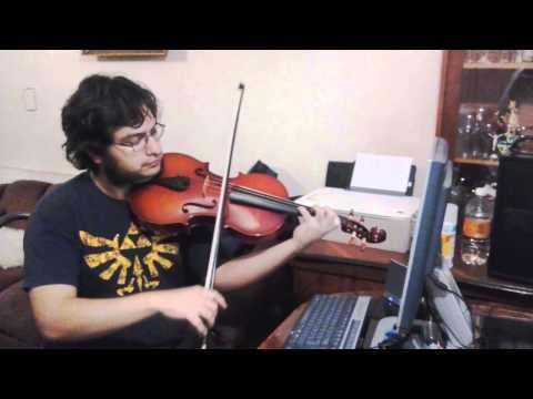 Donkey Kong Theme Viola Link Cover